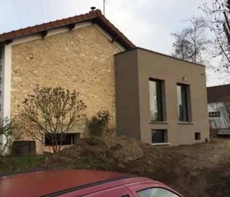 Agrandissement maison 77