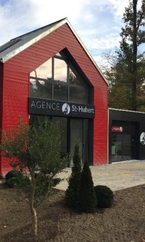 Agrandissement de l'agence immobilière Saint Hubert Arbonne la Foret